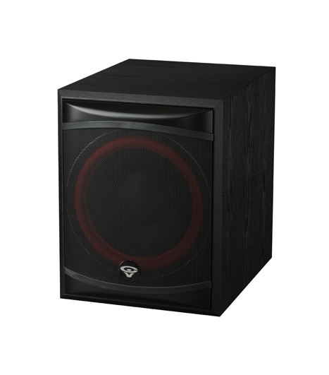 "Cerwin Vega XLS 12S Reg: $1099      Sale: $1019 Cerwin Vega XLS 12S Front Firing 12"" Powered Subwoofer featuring a bass reflex design with high-impact low frequency response down to 28 Hz, the XLS 12S is a 250 watt powered subwoofer. The unit offers level controls and a continuously variable crossover from 50 Hz to 150 Hz, enabling the user to tailor the bass response to any environment."