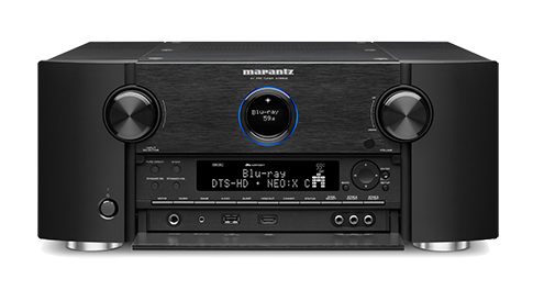 Marantz AV8802A AV Processor Experience the ultimate in home theater enjoyment with the Marantz AV8802A Network A/V surround processor/pre-amp/tuner, which combines advanced DSP and DAC technologies along with exclusive Marantz innovations such as HDAM and Current Feedback. Enjoy the ultimate in cinematic surround sound with Dolby Atmos®, the most advanced motion picture surround sound system ever developed. Dolby Atmos features object-based soundspace creation and reproduction, with the ability to place sound elements with pinpoint precision via front, side and surround speakers along with overhead speakers or up-firing Dolby Atmos enabled speakers.