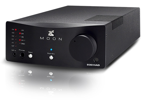 Moon 230 HAD Reg: $1749 See in store for discount NEW PRODUCT. The Neo 230HAD is a headphone amplifier, a DAC and a line-stage preamplifier all housed in one very stylish package.The possibilities are endless... What else could you possibly ask for ?