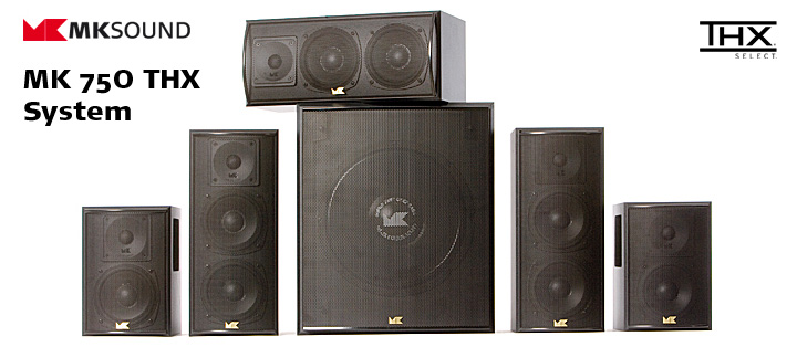 M&K Select Speaker Systems     See in store for details, price, and custom ordering.