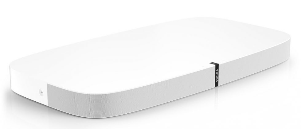 Sonos PLAYBASE    $899   Movies, sports, TV shows, gaming – the slim, low profile PLAYBASE adds dynamic, pulse-pounding sound to whatever's playing when your TV's on. And streams your favourite music when it's off.