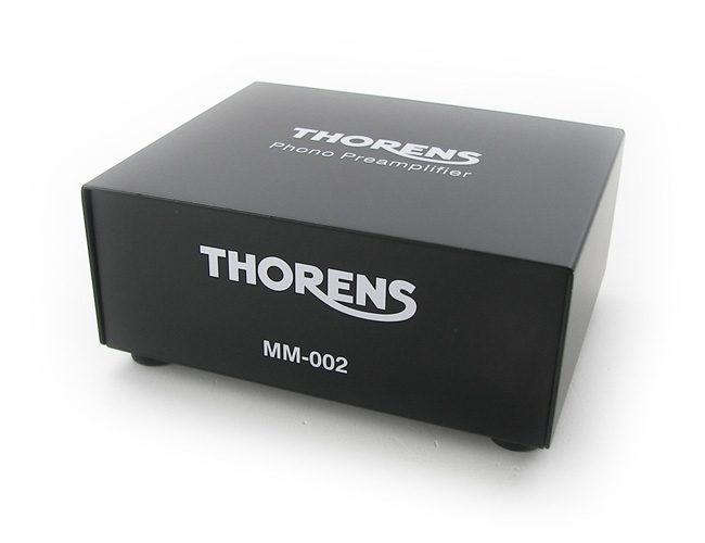 Thornes MM-002    $300   The new MM 002 phono preamplifier replaces the renowned MM 001. Developed from the ground up, the MM 002 is a clear step forward, offering excellent Moving Magnet sound quality, and exceptionally low noise levels, at a very affordable price point.