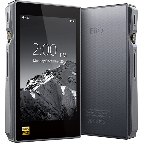 Fiio X5III    Reg: $495     All new Android Based    X5 3rd Generation    Native DSD decoding, more musical, more portable