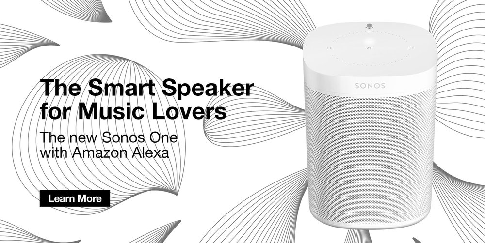SONOS ONE Now Voice Enabled in Canada                                                                                                $249 In Stock @PEAK!