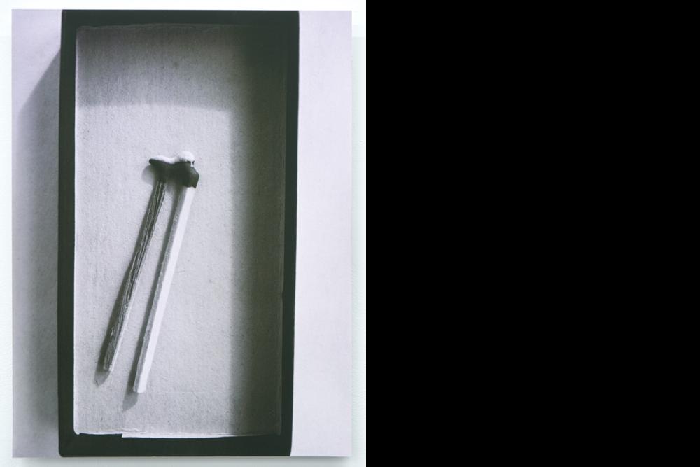 Match, 2017, 70 x 53 cm, giclée print mounted to aluminium