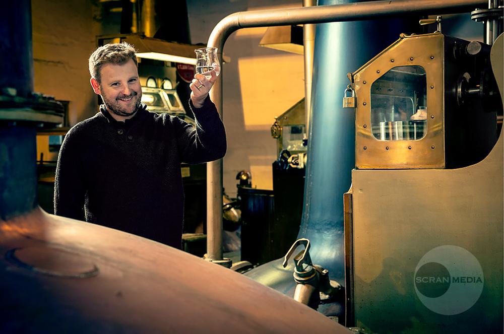 Adam Hannett, The Botanist Gin, Bruichladdich, Islay.