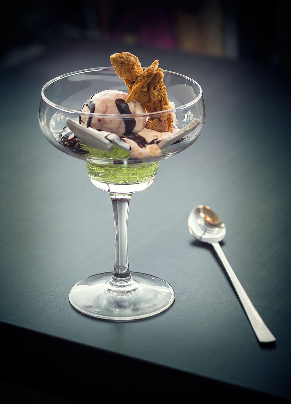 Tasty Alea, Glasgow - Tony Singh dessert for The Caterer.