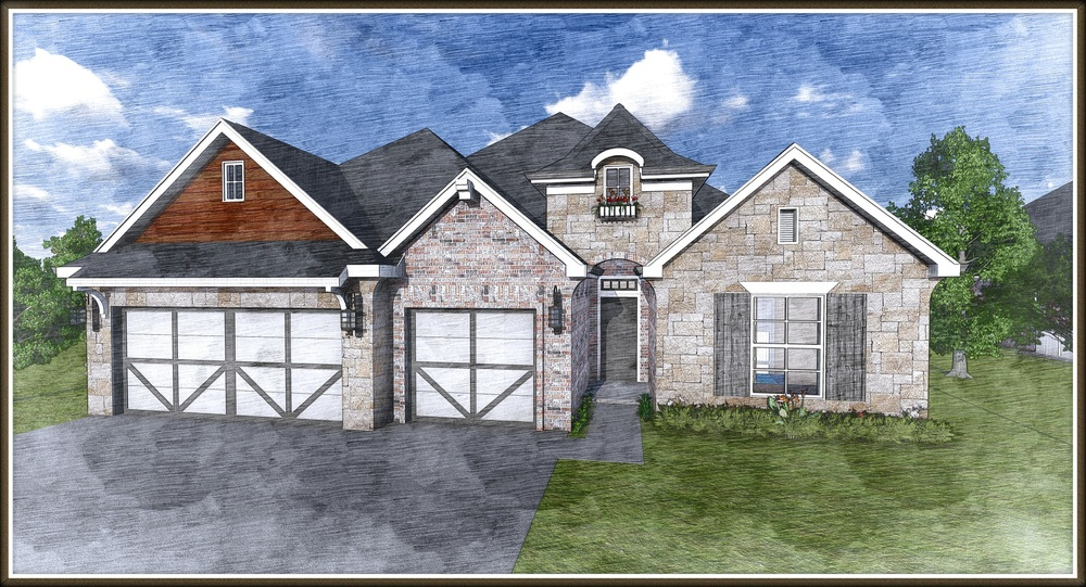 Blakeview 1 Story - 2629 Sq.Ft.