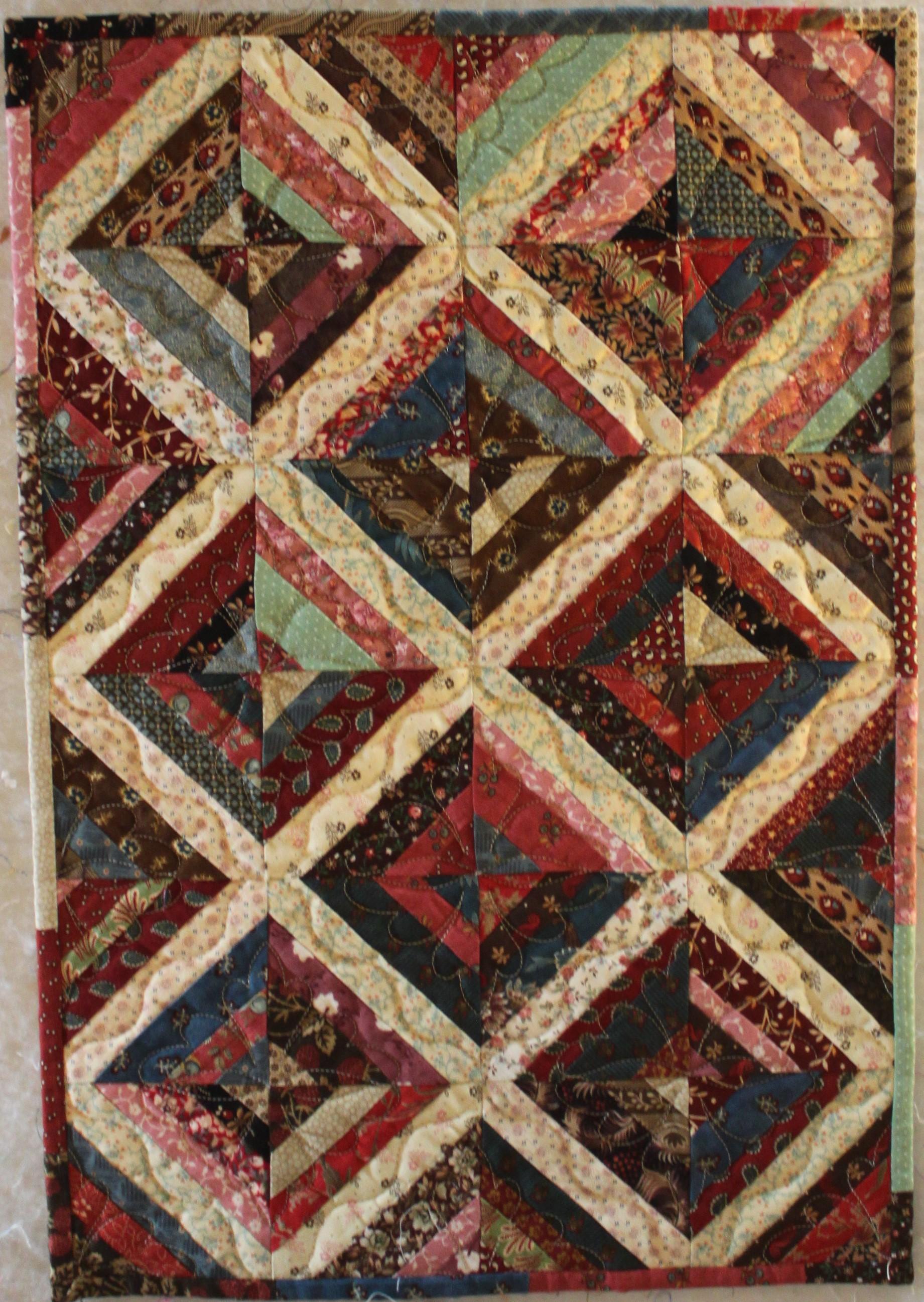 Judy Kaplan Eeny Mini Miny Moe Broward Quilt Expo