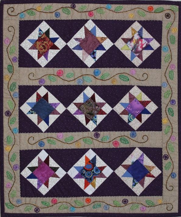 Purple Delight by Sharon Kelly