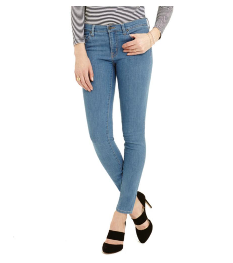 Women's Skinny Jeans Baby Blue