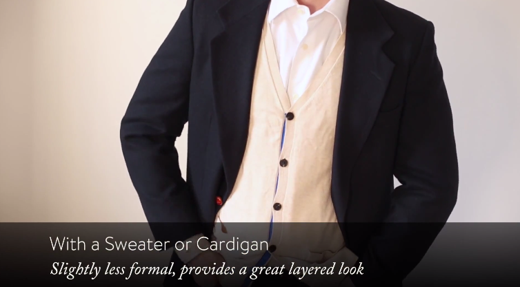 7f81abe0b0d ... almost any dress shirt and tie to create an awesome look that works  with your style. Our advice would be to stay away from the more casual blazers  to ...
