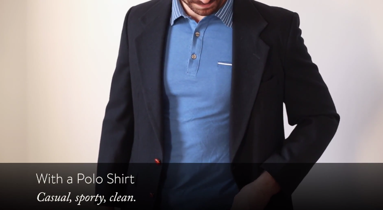How To Wear A Blazer For Men