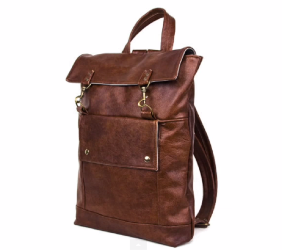 bb83368346 Alison  That s not to say you can t find a clean or nice looking leather  even backpack