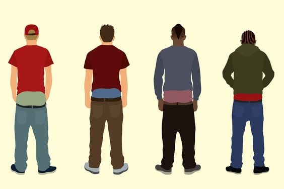 pull your pants up a brief history of saggy pants cladwell
