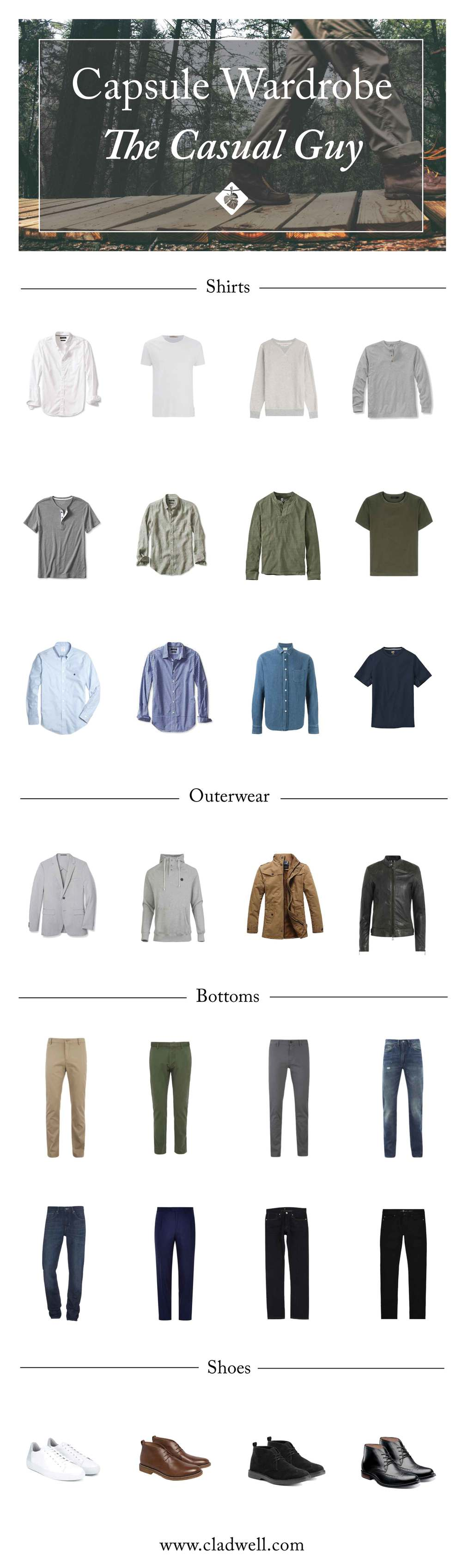 A Capsule for The Casual Guy — Cladwell