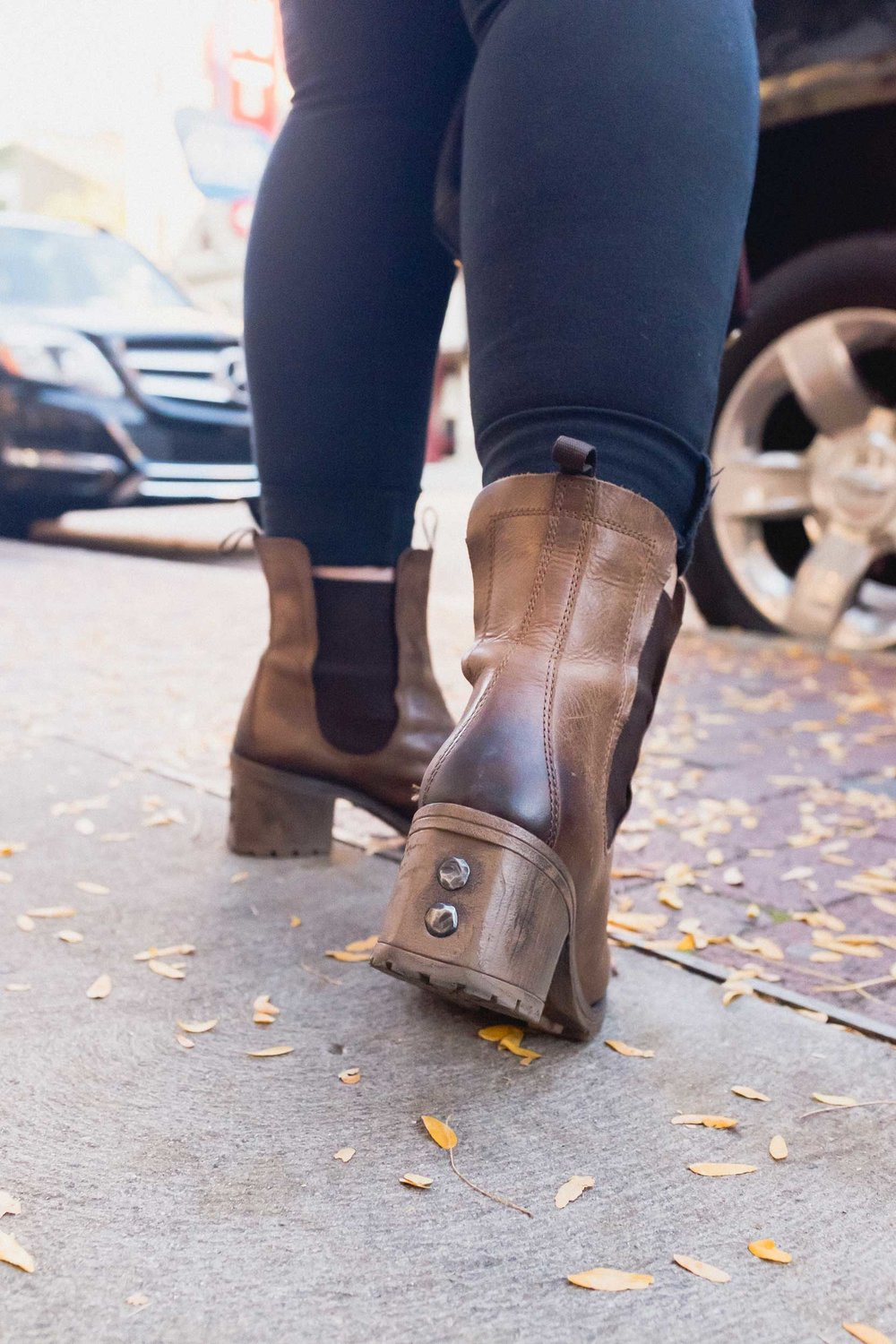 Fall boots courtesy of Frye London.