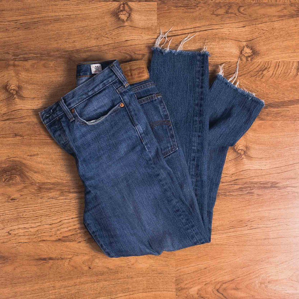 High waisted jeans ( Levi 's)