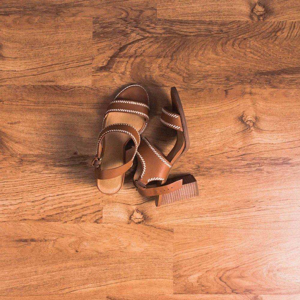 Block heels (Madewell)