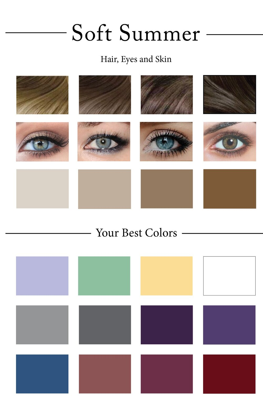 Soft Summer Color Palette - Bing images
