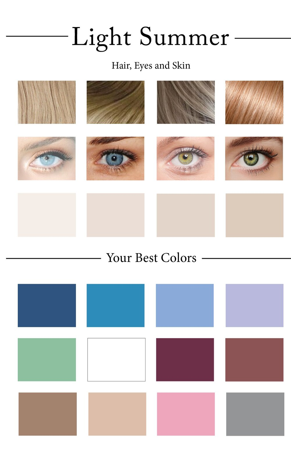 How to create your personal color palette plus take our color summer color palettes geenschuldenfo Gallery