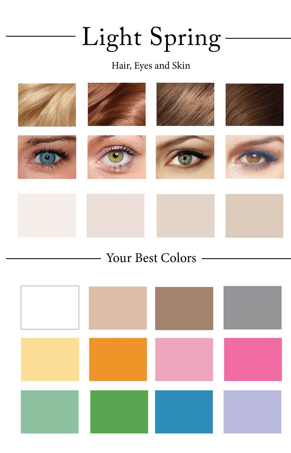 How To Create Your Personal Color Palette Plus Take Our Color Quiz  CLADWE