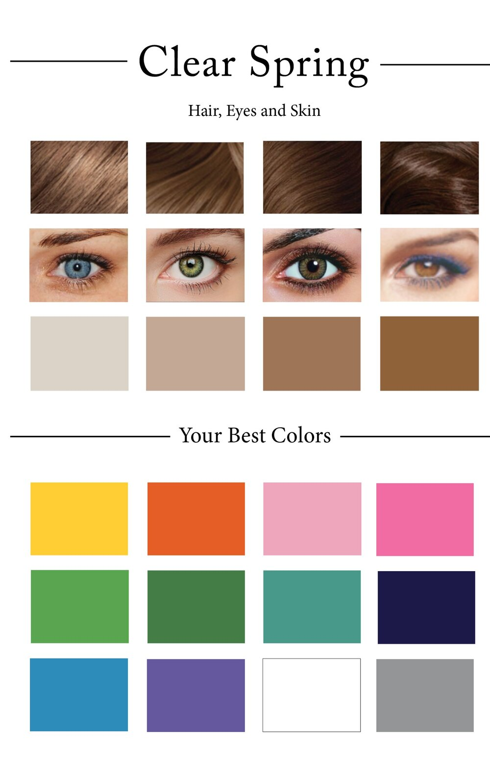 How to create your personal color palette plus take our color clearspringpaletteg geenschuldenfo Gallery