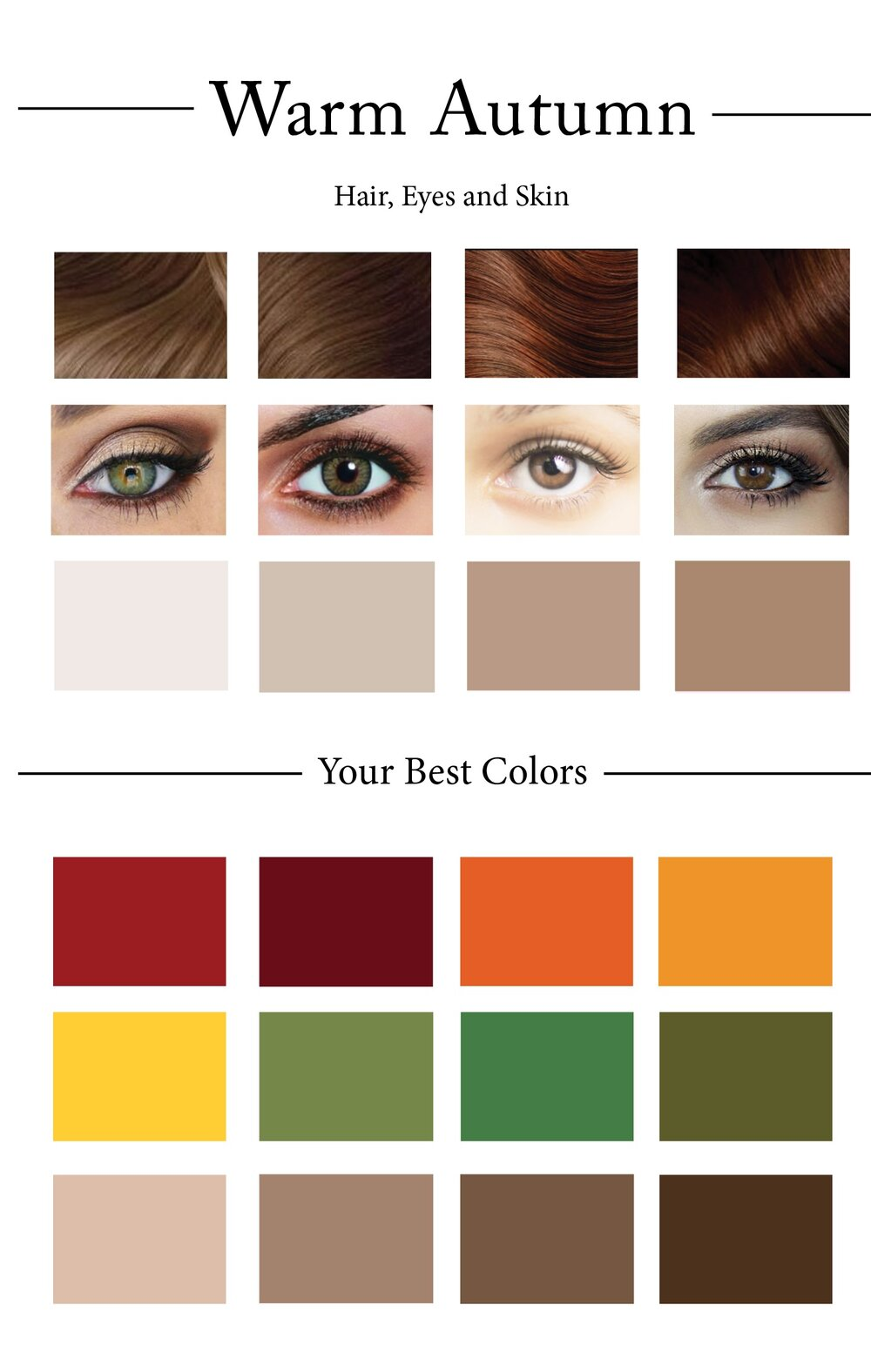 How to create your personal color palette plus take our color warmautumnpaletteg geenschuldenfo Gallery