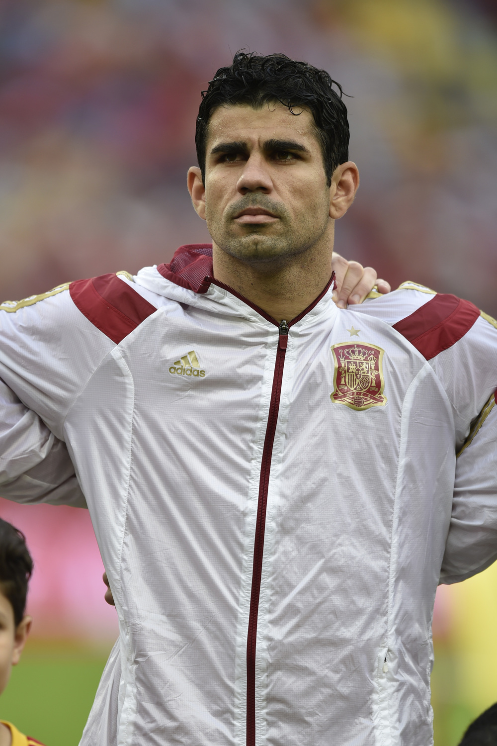 Diego Costa has struggled to find success at the international level since joining La Roja in for the 2014 FIFA World Cup.  Photo credit Celso Pupo / Shutterstock.com