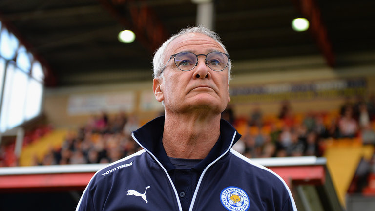 Claudio Ranieri has seen unpredictable success at Leicester City FC this season photo credit Sky Sports