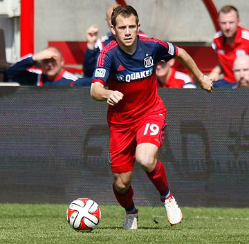 Harry Shipp  the first Chicago Fire homegrown player to play in MLS was recently shipped to Montreal Impact for allocation money source  Linda Cuttone/Sports Vue Images