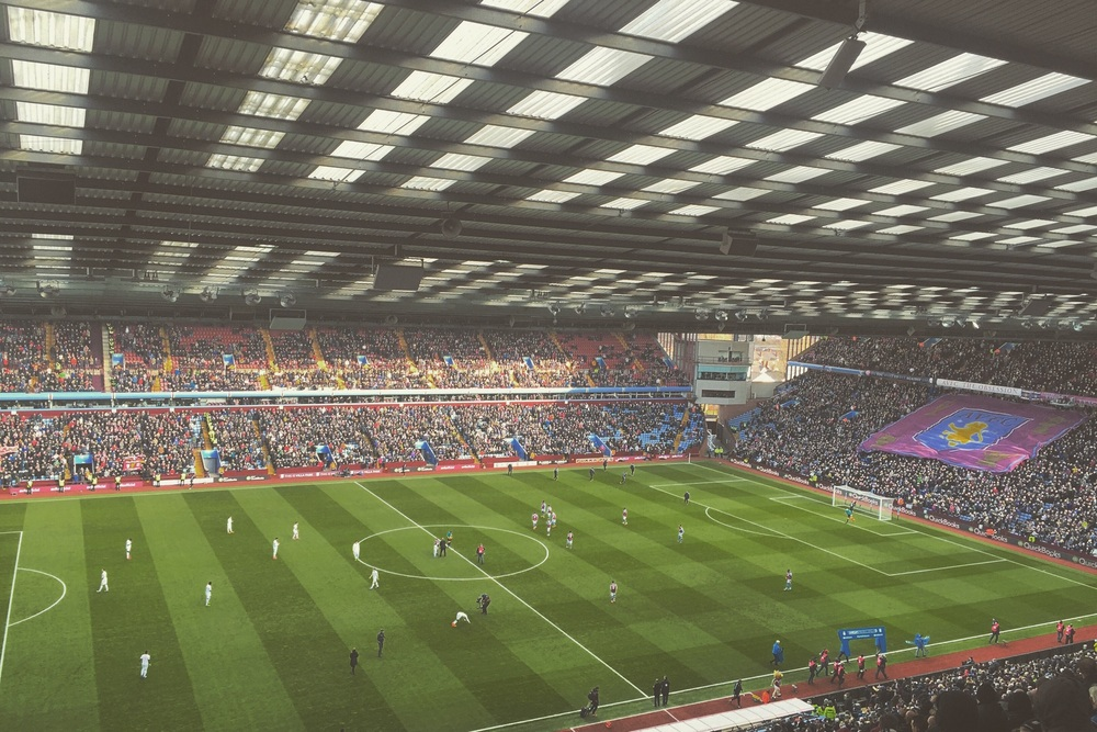 Photo taken from my seat at Villa Park - Instagram: Bobinho5