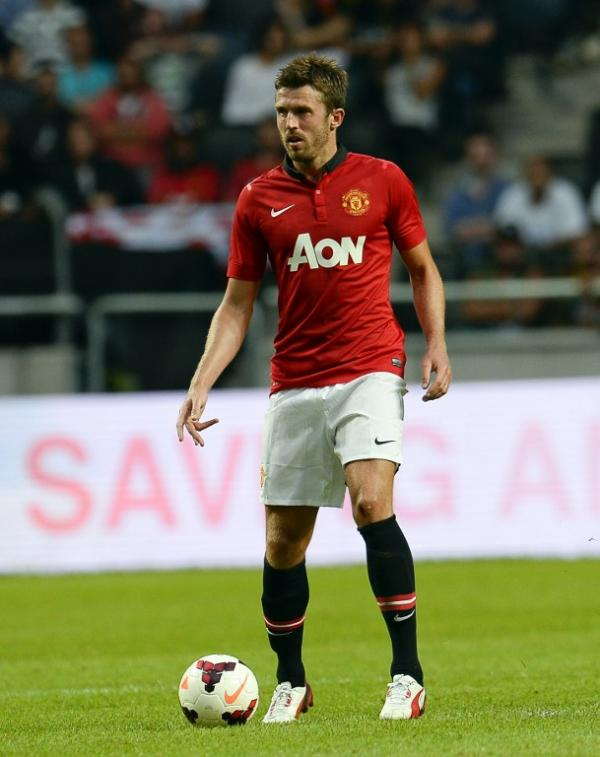 Michael Carrick is one of the world's most skilled midfielders photo credit AFP