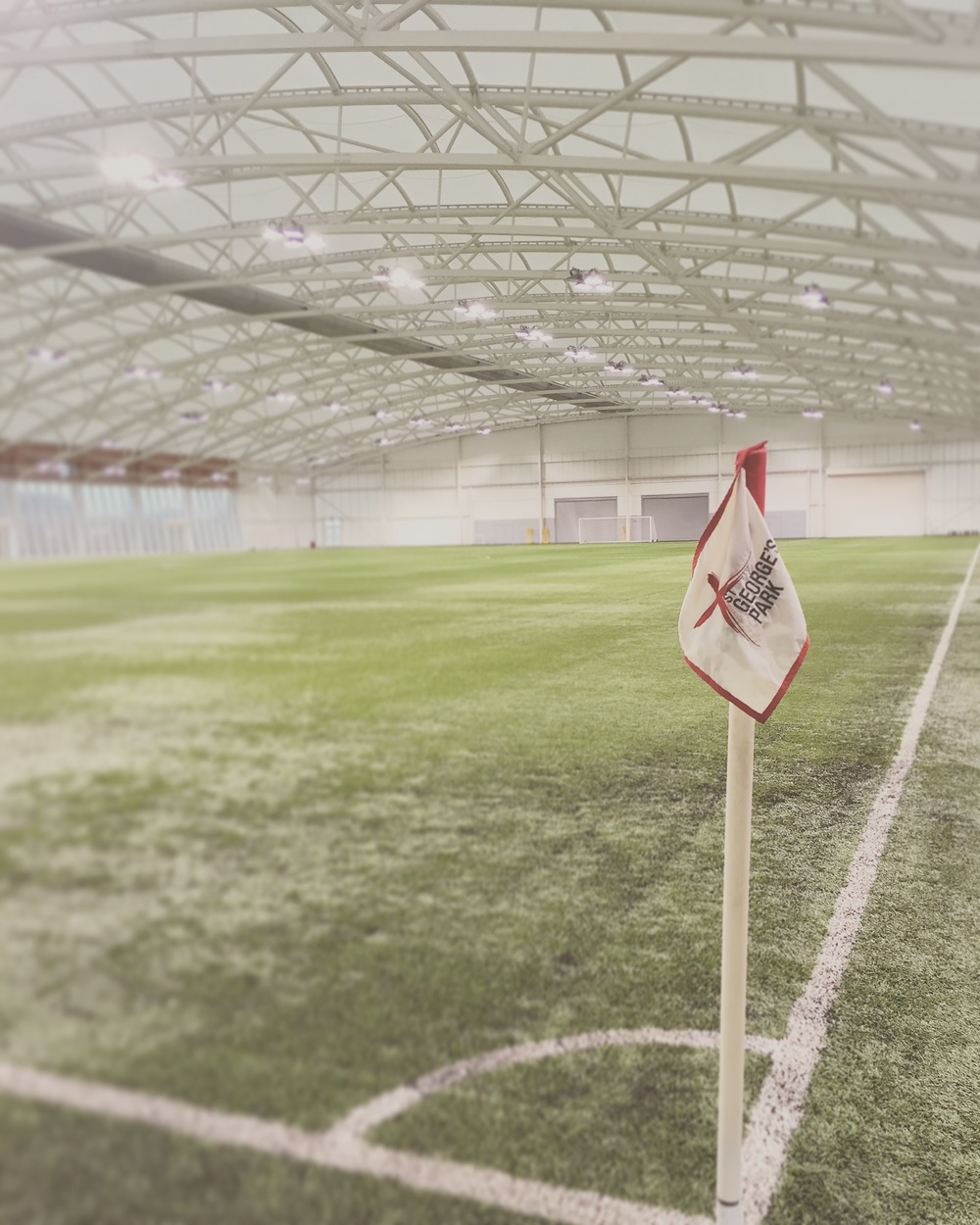 Image I took on February 13, 2016 of the 3G pitch - Instagram: Bobinho5