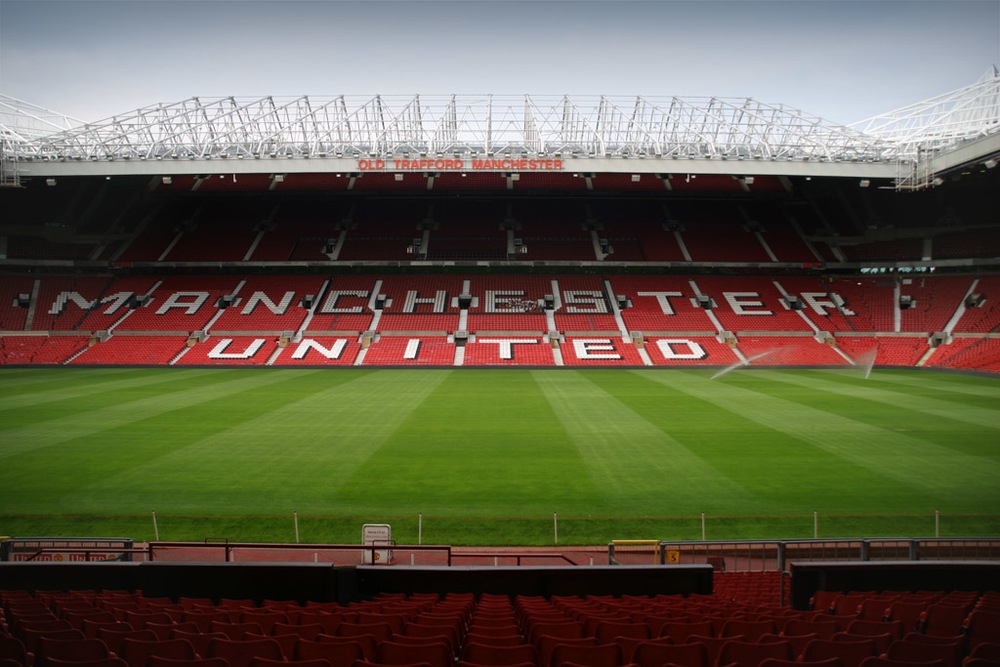 The tribal home of Manchester United Old Trafford