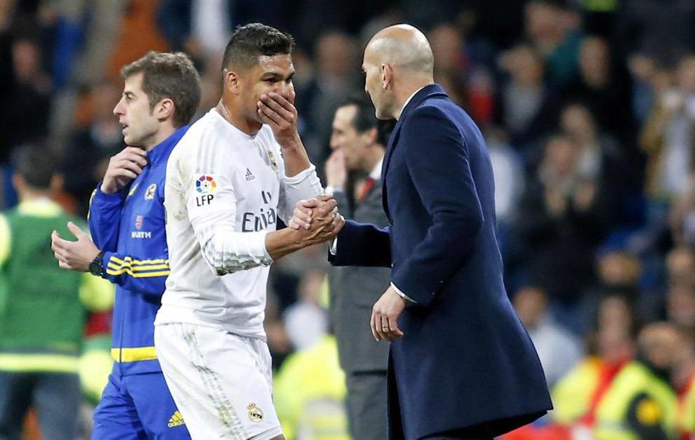 Zidane's Makelele, Casemiro