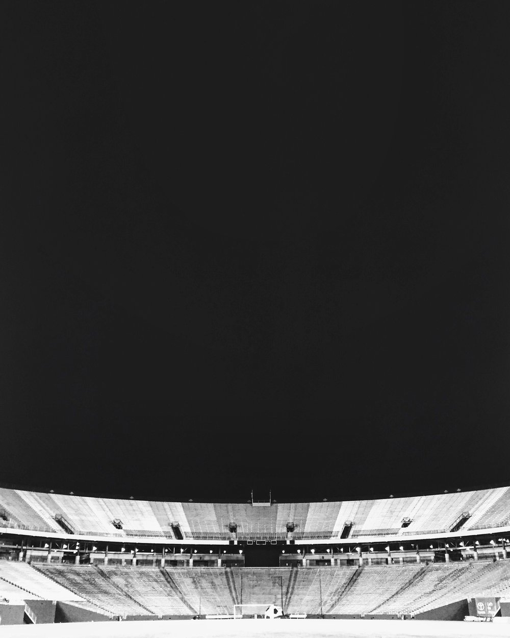 The Cotton Bowl, Dallas, Texas - Bobby snapped this photo of the Cotton Bowl as he was the last person to leave the pitch after the U20 MNT beat Monterrey U-19 1-0 in a well-attended tournament opener at the 2016 Dallas Cup.