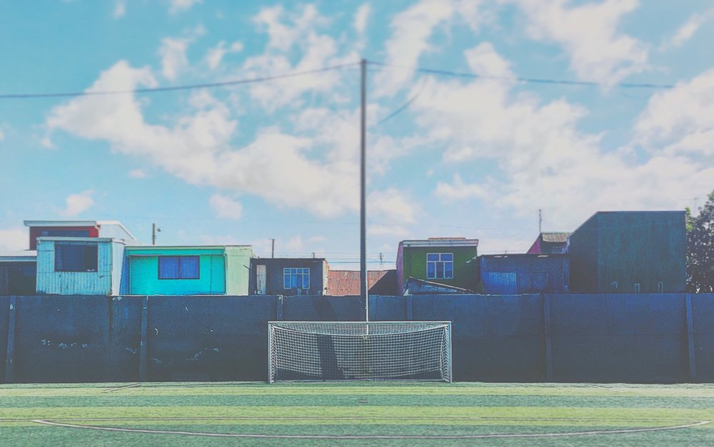 San José, Costa Rica - No one has a better view of the U20 MNT training sessions for the first few days at World Cup Qualifying than the residents of these homes in the Costa Rican capital.