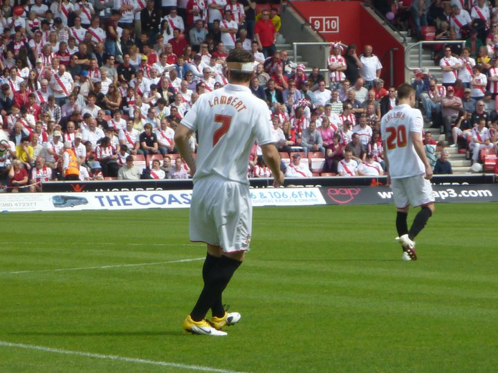 Nothing to do with the post just a sweet picture of the King Rickie Lambert and Adam Lallana taken by Bobby back in their League 1 days