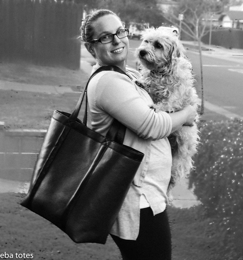Emmaly and her furry baby Lola