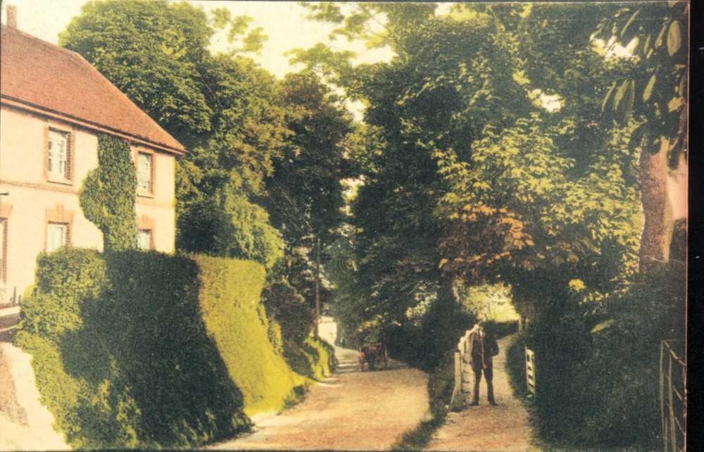 Devonshire cottages & Church Path [15032676].jpg