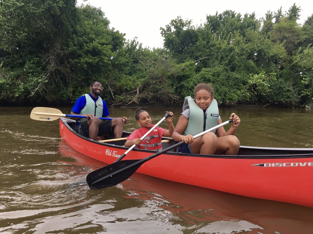 Canoe Trips/Clinic - Paddle with our experienced staff on a tour of the Anacostia River and wetlands in Kingman Lake.