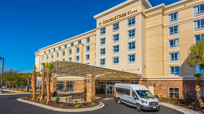 DoubleTree by Hilton North Charleston Convention Center - Booking Link: DoubleTree By Hilton North Charleston Convention CenterOr call 843-576-0300 and reference the Concentric Corporate RateConcentric guest special rate: $129/night (breakfast included)