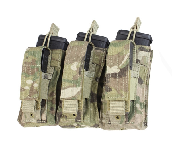 Triple Kangaroo Mag Pouch in Multicam