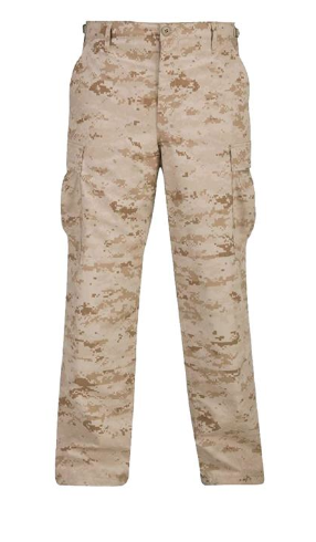 BDU Button Fly Trouser in Digital Desert