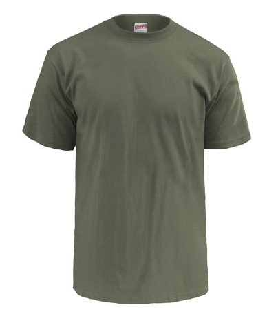 Battle T-Shirt in Olive Drab