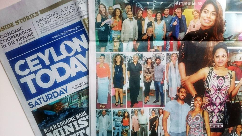 Ceylon Today newspaper, 23rd July 2016, Sri Lanka. (Photographer: Gemunu Wellage)