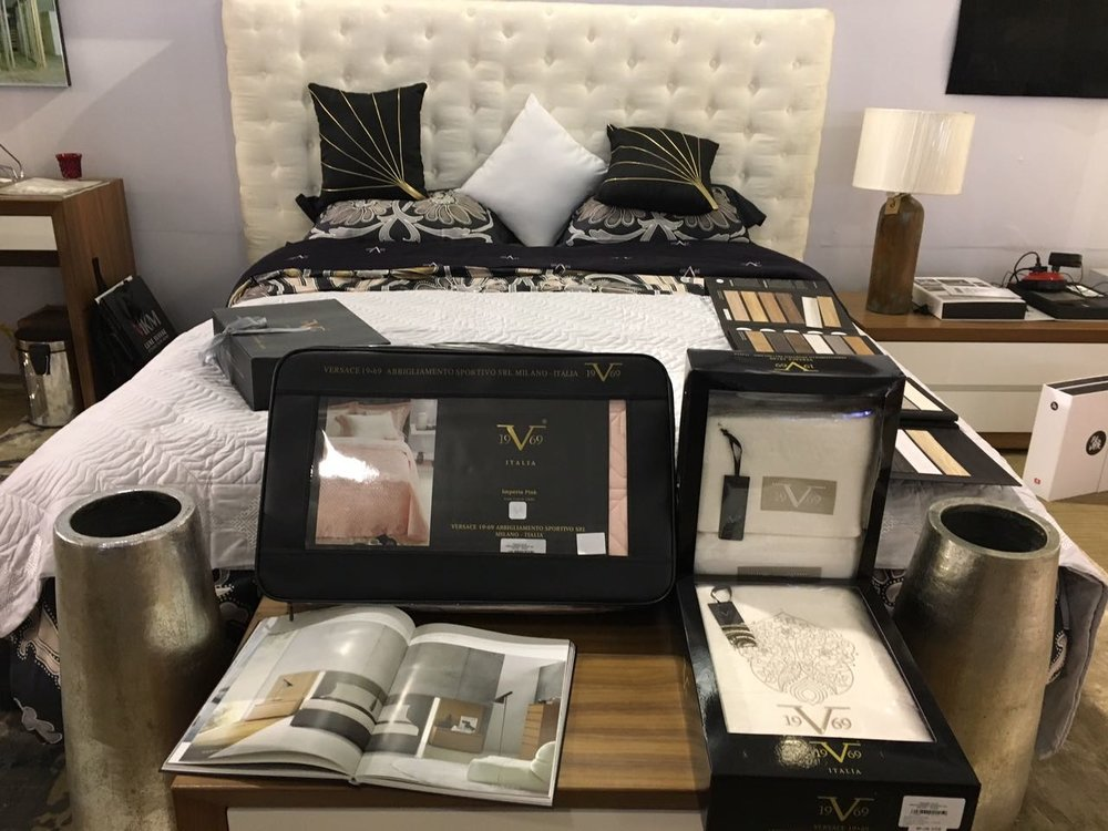 Luxury bedding, pottery, bedroom furniture & mattress from various established brands from across Europe