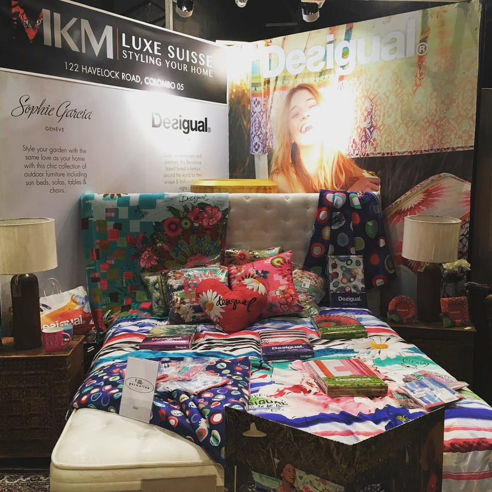 Famous Spanish brand DESIGUAL's gorgeous Living range on display - including duvet covers, cushions, bed sheets, towels, blankets picture frames & more.