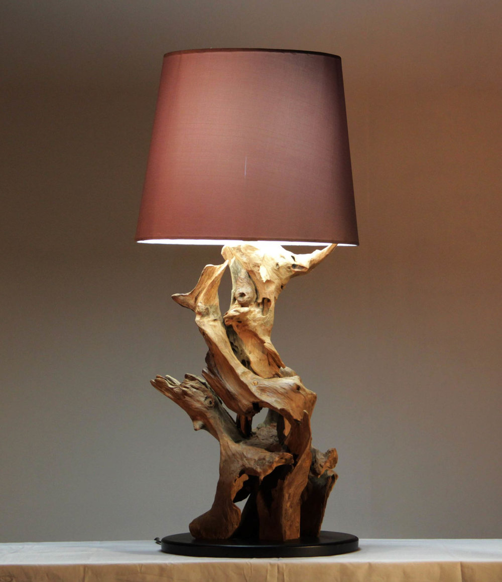 Lamp from the Mountain Deluxe range, designed in Switzerland